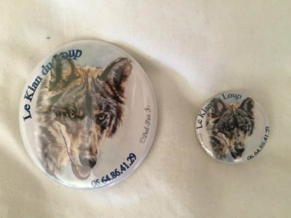 Badge Le Klan du Loup