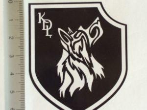Autocollant du Klan du Loup