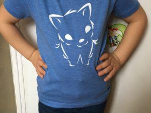 T-shirt bio enfant Petit Loup