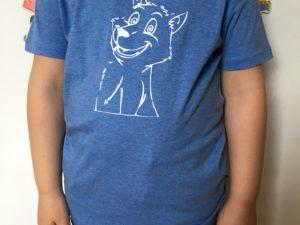 T-shirt bio enfant Louveteau