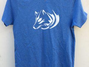 T-shirt bio ado Jeune Loup tribal