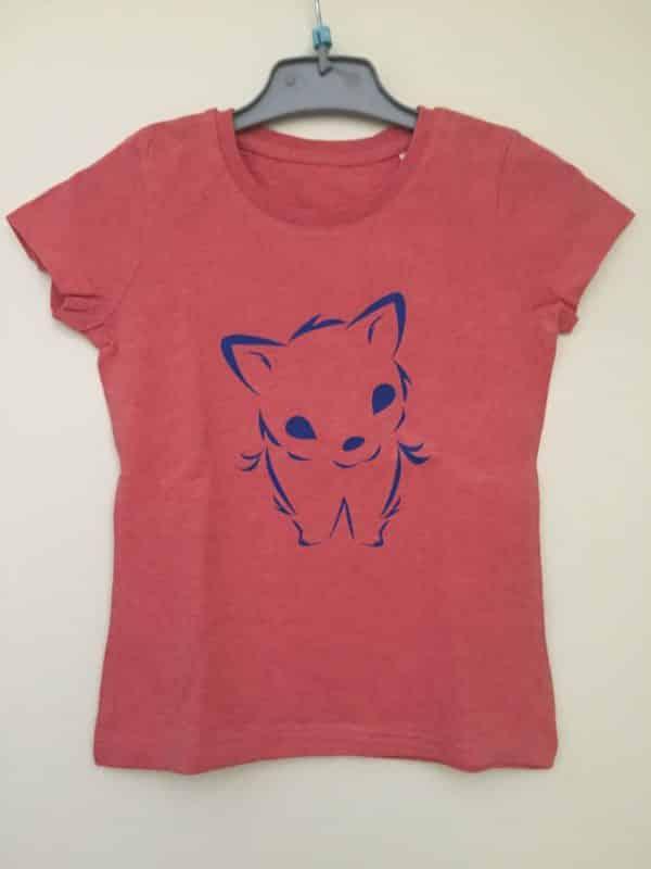 T-shirt bio fille Petite Louve