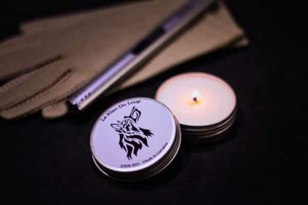 Bougie parfumée bio Le Klan du Loup