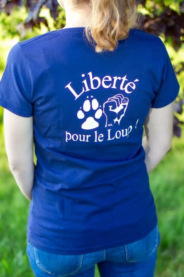 liberte-loup-t-shirt-bleu-femme