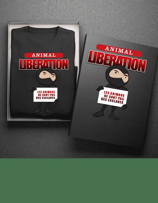 mokup Animal Libération
